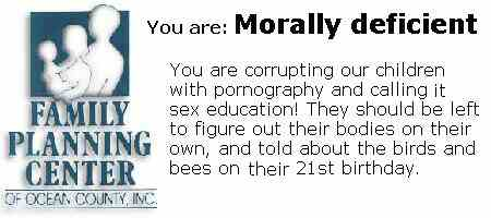 morally deficient